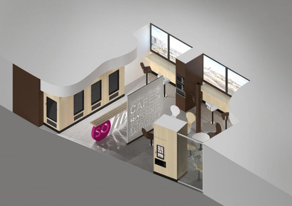 Espace 3D Cafetéria DALTYS
