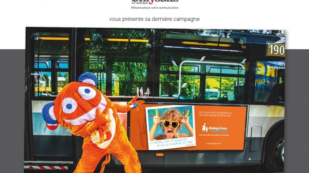 Babyboo affichage bus